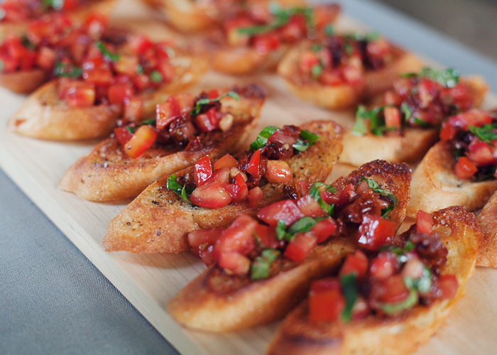 Double-Tomato Bruschetta